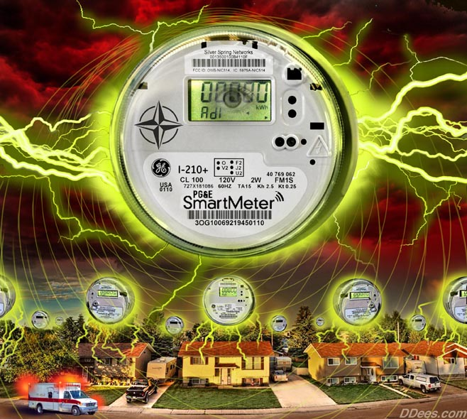Smart Meter Radiation Poisoning
